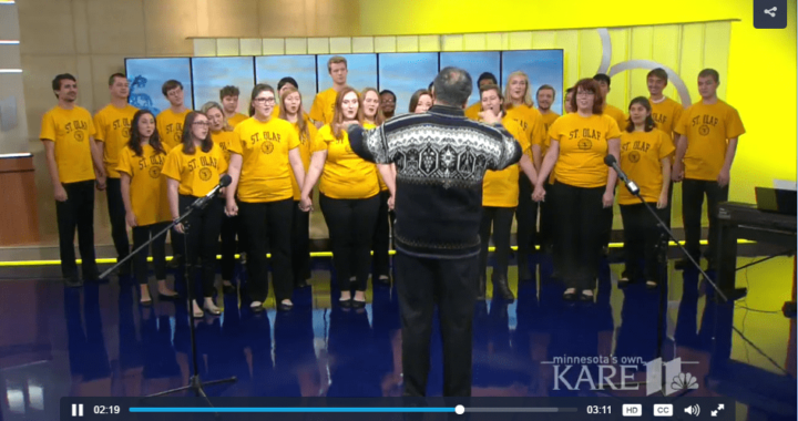 st olaf christmas festival featured on kare 11 - St Olaf Christmas Festival